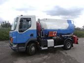 Baby Oil tanker - 7.5 tonnes - difficult access
