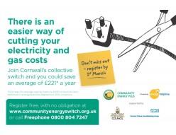 Image: Community Energy Switch advert